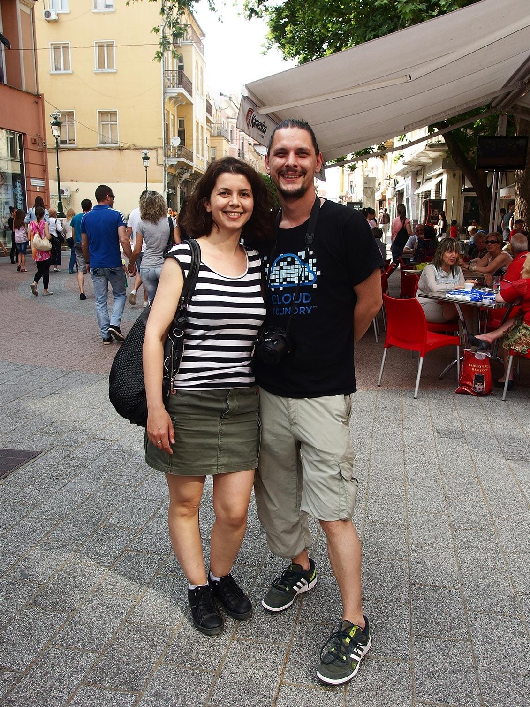 Влюбена двойка, Главната, Пловдив