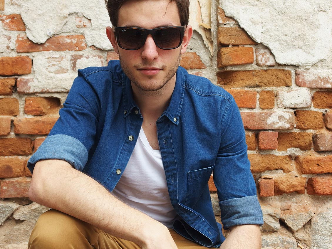 Китарист, Пловдив, Слънчеви очила