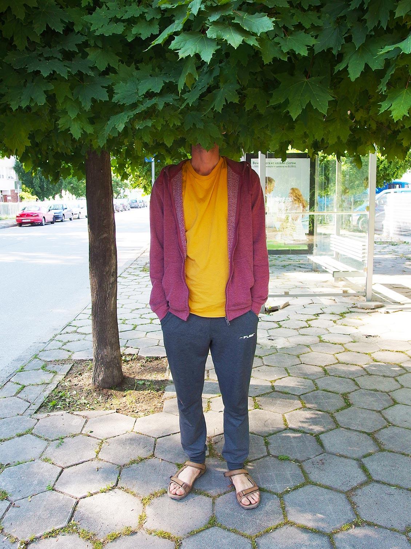 Природа, Дърво, Момче, Пловдив