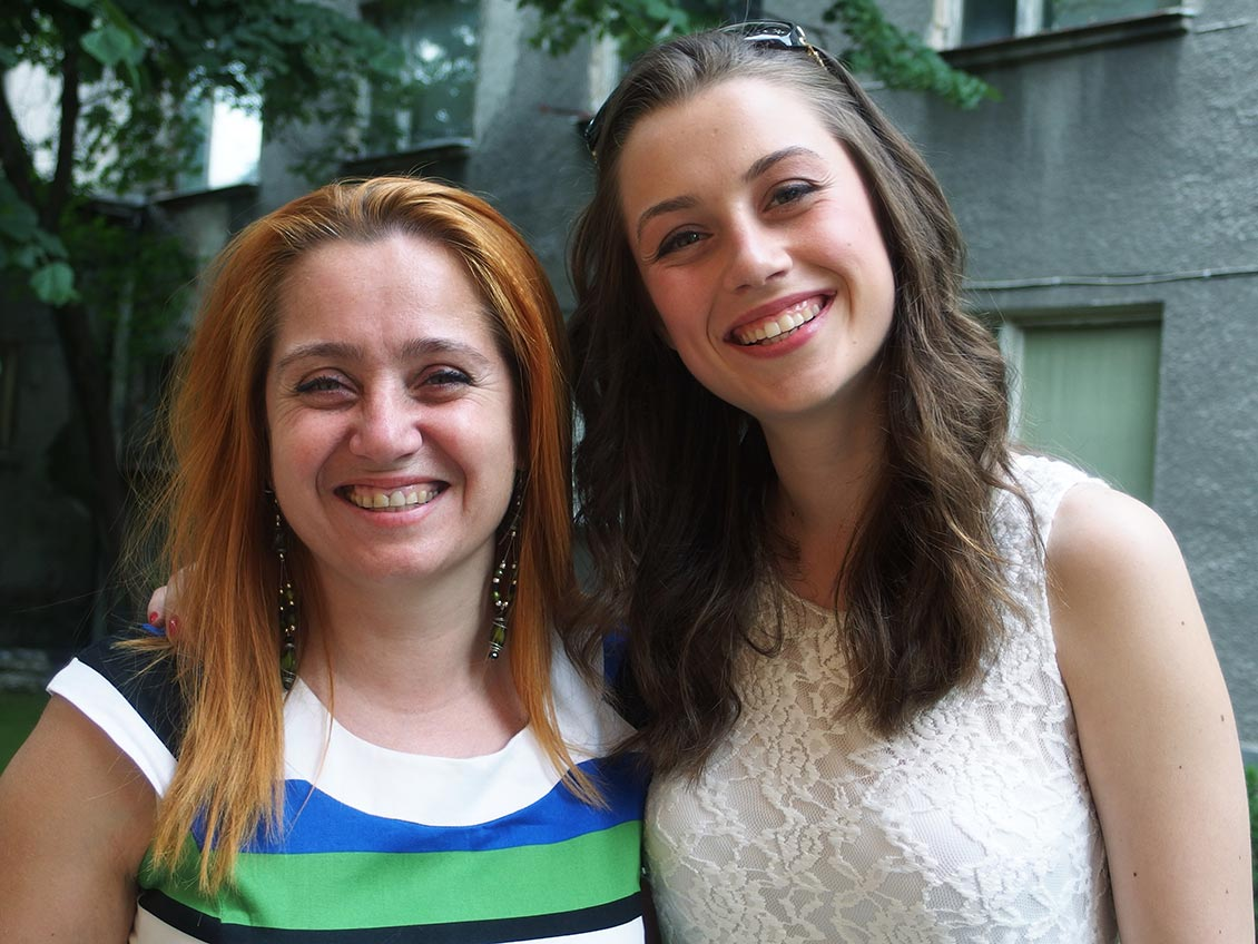 Майка и дъщеря, Пловидв